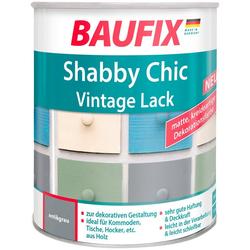 BAUFIX Acryl Buntlack Shabby Chic, Antik Lack, antikgrau, 750 ml grau