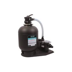 CRISTAL-FLO-Sandfilteranlagen mit Freeflo-Pumpe