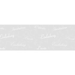 Transparentpapier 115g/qm A4 VE=5 Blatt White Line Einladung