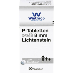 P TABLETTEN weiß 8 mm 100 St.