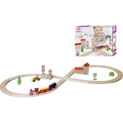 Eichhorn 35teiliges Achterbahn-Set