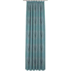 Wirth Vorhang Stuben blau Wohnzimmergardinen Gardinen nach Räumen Vorhänge