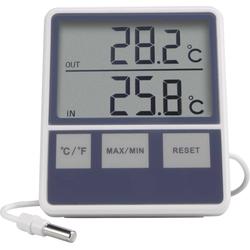 Basetech Funk-Thermometer, kabelgebunden Funkwetterstation