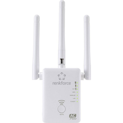 Renkforce Renkforce AC750 Dualband WLAN-Router/Repeater/AP WLAN-Antenne