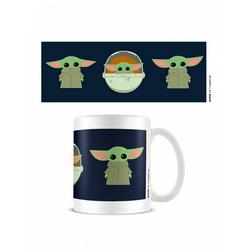 Horror-Shop Geschirr-Set Star Wars The Mandalorian Baby Yoda Tasse als Gesc, Keramik