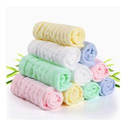kueatily Handtuch Baby-Gesichtstuch, Baby-Musselin-Gesichtstuch, Baby-empfindliche Haut, 10 natürliche Bio-Badetuch-Baumwolle, weiche Baby-Gesichtstücher, tolles Duschgeschenk 30x 30 cm