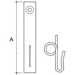 Niedax Seilbefestigung LS-72