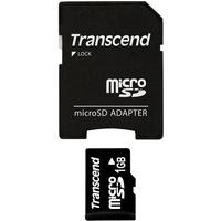 Transcend microSD 1GB + SD-Adapter