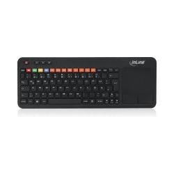 InLine® Wireless Smart-TV Tastatur, schwarz