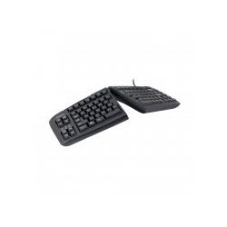 R-Go Goldtouch Geteilte Tastatur UK Layout AZERTY USB Schwarz (RGOGTGTN-99UK)