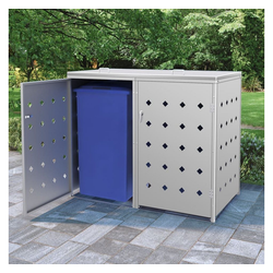vidaXL Mülltonnenbox 480 l