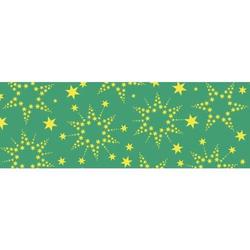 Transparentpapier 115g/qm A4 VE=5 Blatt Sternenglanz grün
