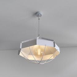 Retro Industrielampe RAFI ø 45 cm Silbern
