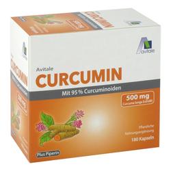 CURCUMIN 500 mg mit 95% Curcuminoiden