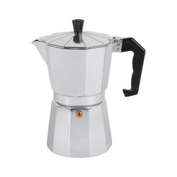 Karl Krüger Espressokocher Aluminium Espressokocher 6 Tassen