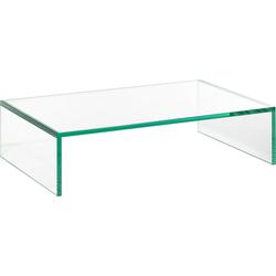 Places of Style Lowboard Glarus, aus Floatglas 60 cm x 15 cm x 38 cm