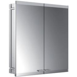 EMCO Lichtspiegelschrank evo ASIS Unterputz, 600 x 700 mm, 2-türig mit LS, ohne SH