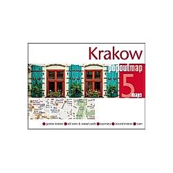 Krakow Double PopOut Maps - Buch