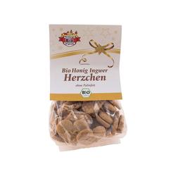Bio-Honig-Gewürz-Herzen, 100 g