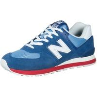 NEW BALANCE ML574 blue-white/ white-red, 45.5