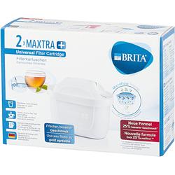 BRITA Wasserfilter 2er-Set Filterkartusche MAXTRA+