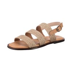 VERBENAS Trenza Color Klassische Sandalen Sandale beige 38