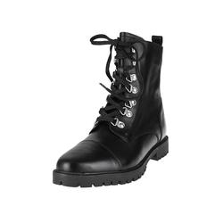 Schnürstiefelette Schnür-Boots COX schwarz