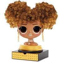 MGA Entertainment Surprise! OMG Styling Head- AA- Royal Bee Puppen-Haarstyling-Set