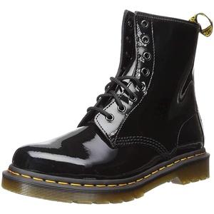 Dr. Martens Damen 1460 Paten Boots, Schwarz (Black), 38