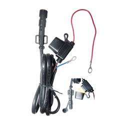 Klan-e Battery Cable Batterijkabel, zwart, Eén maat