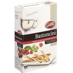 Bastoncini mit Tomate und Basilikum 100g - Gilli Food