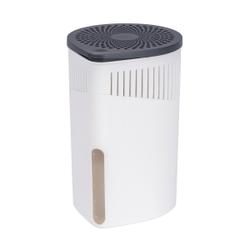 WENKO Luftentfeuchter Drop, Raumentfeuchter zur Senkung der Luftfeuchtigkeit , Farbe: weiß