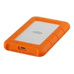 LACIE Rugged USB C 2 TB externe Festplatte