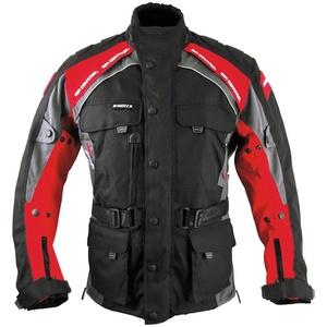 roleff Motorradjacke Liverpool RO781 4 Taschen rot XXL