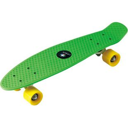 PP Skateboard 22''x5 7/8'' ABEC5, PVC 55x45mm wheel grün