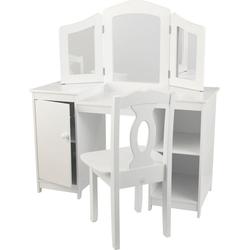 KidKraft® Schminktisch Luxus-Frisiertisch für Mädchen mit Stuhl