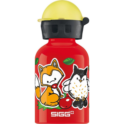 Sigg Trinkflasche Alu-Trinkflasche Dogs, 300 ml rot