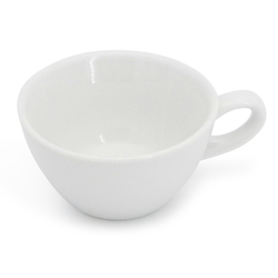 Walküre Porzellan Tasse Teetasse, 0,15l Alta Weiß Walküre Porzellan (1-tlg), Made in Germany