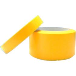 Goldband Klebebänder, bis 110°C hitzebeständige Abdeckbänder, 1 Rolle, 25 mm x 50 m