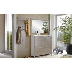 Voss Möbel Dielenkombination Santina in taupe/weiß