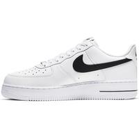 Nike Men's Air Force 1 '07 white-black/ white, 40.5