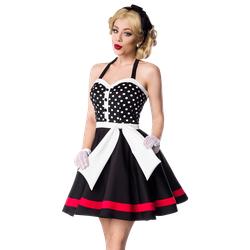 Neckholder Kleid mit Punkten