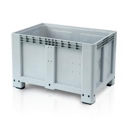 Palettencontainer - big box - 1.200 x 800 x 800 mm, 4 füße