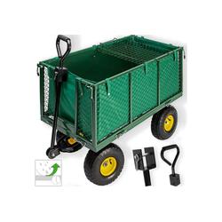 KESSER Bollerwagen, 550kg Transportwagen Gartenwagen Gerätewagen Handwagen