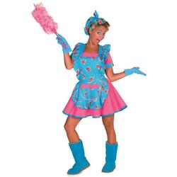 Gretchen Putzfrau Kostüm für Damen bunt 44