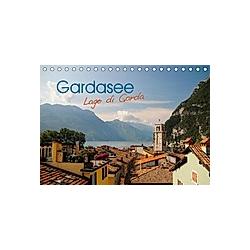 Gardasee. Lago di Garda (Tischkalender 2021 DIN A5 quer)