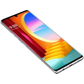 LG Velvet 128 GB aurora silber