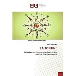 LA TONTINE. Alain Boutchang  - Buch