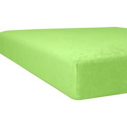 Massageliegenbezug Flausch-Frottee, Kneer grün Spannbettlaken Bettlaken Betttücher Bettwäsche, und Laken