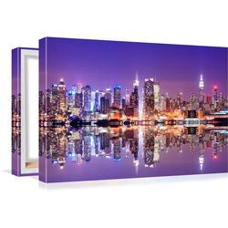 Conni Oberkircher´s Bild Big City 9 - City Life 80 cm x 40 cm